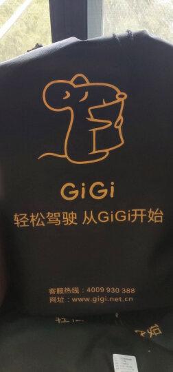 吉吉(GiGi)汽车腰靠 G-1110太空记忆棉靠枕 背靠垫 车用办公用护腰枕杏色 晒单图