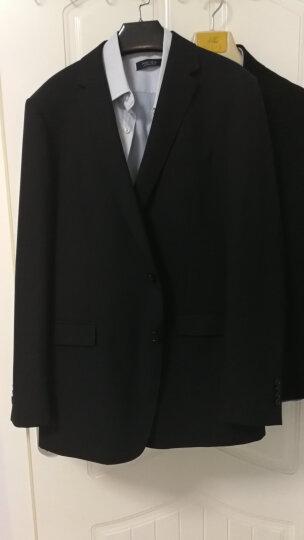 雅戈尔youngor 【含羊毛】  夏季男士西服    商务休闲 藏青条纹 180/104A 晒单图