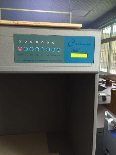 三恩驰 天友利TILO标准光源对色灯箱 四五六光源 比色灯箱D65 UV纺织印刷对色灯箱 P120特大6光源 晒单图