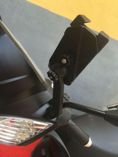 偶地ODIER 自行车手机支架 电动踏板车电瓶车山地车通用导航架 骑行装备配件 PB02-B款(自行车把立安装款) 晒单图