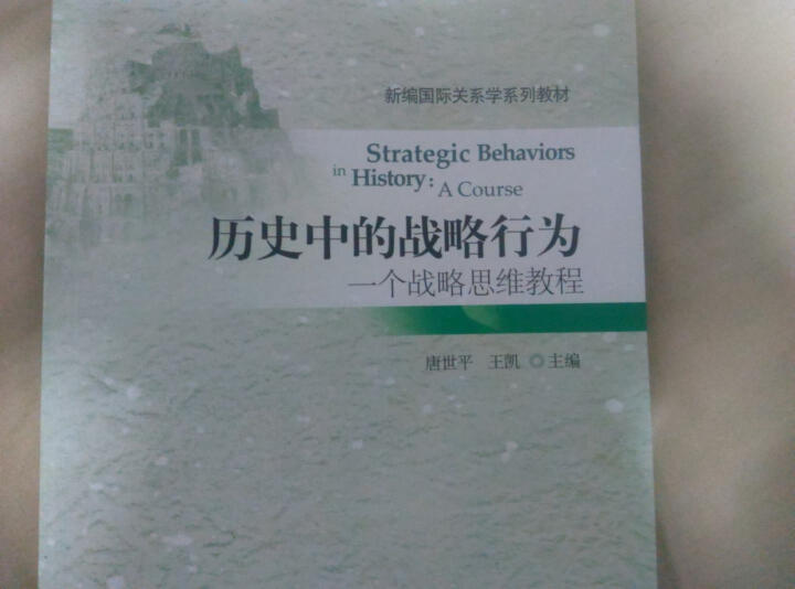 历史中的战略行为:一个战略思维教程 晒单图
