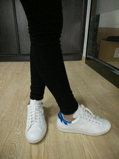 Isabel Toledo伊莎贝尔内增高小白鞋休闲运动鞋低帮板鞋女款 蓝色CL0180105 36 晒单图