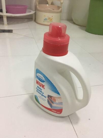 NUK儿童婴儿洗衣液宝宝专用衣物清洗液(温和无添加)补充装(750ml*3袋) 晒单图