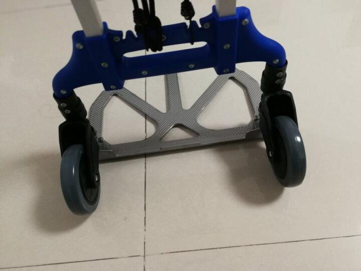 畅意游(Easy Tour)折叠铝合金小拉车 自驾游装备 双轮购物买菜拉货行李车便携拉杆车承重约75KG 蓝色 晒单图