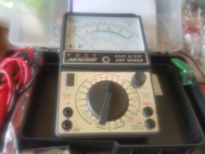 JZD捷智达 指针万用表 南京科华MF47F指针型万用电表 套餐2 原装+9号 2号电池 晒单图
