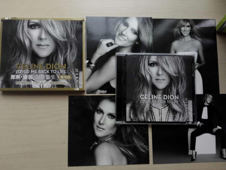 席琳·迪翁:为爱重生(豪华版 随碟附送4张精美年历明信片 CD) 晒单图