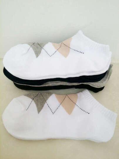 南极人 袜子  男女 船袜 情侣袜 短袜浅口夏季袜 礼盒袜8双装包邮 女士蝴蝶结款-8双装 均码 晒单图