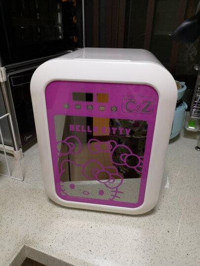 凯蒂猫(hellokitty) 婴儿奶瓶消毒柜 带烘干餐具消毒机UV紫外线自动多功能消毒器 亮红KT-4028 晒单图