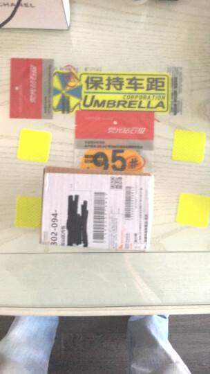 3M反光汽车加油贴纸 92 95 98号 柴油 油箱盖贴 创意个性车身装饰划痕遮挡贴膜 【95 圆】荧光黄 晒单图