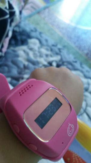 葫芦娃儿童智能手表金星V11/G1电信版GPS定位电话手表防水可插卡智能手机防走失 电信版公主粉 晒单图