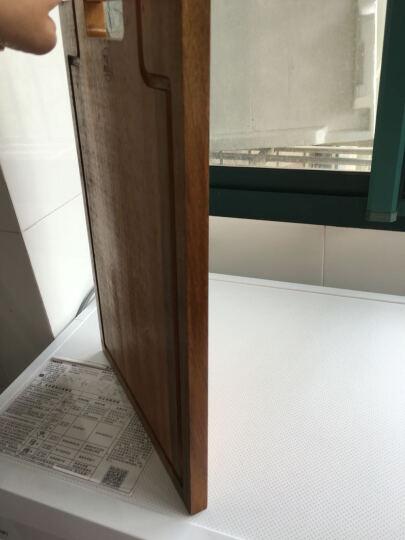 原森太 相思木 菜板 砧板 加厚实木案板擀面板家用粘板 切菜板 升级款小号 27X40CM 晒单图