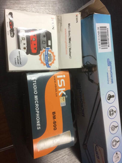 iCON ICON艾肯Micu VST外置声卡手机电脑网络YY主播K歌专业录音设备直播套装 艾肯Micu声卡 晒单图