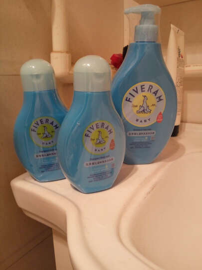 五羊(FIVERAMS) 五羊 婴儿洗发水儿童沐浴露二合一新生儿2合1沐浴乳 1500ml 晒单图