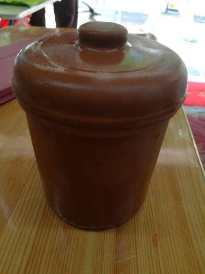 美味世家(meiweishijia)原厂配件 电炖锅药锅砂锅汤锅红紫砂陶瓷隔水炖盅 0.3升炖盅三个装适合全放进5升汤锅或5.2升药壶 晒单图