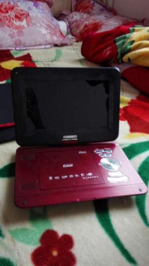 万利达(MALATA)14英寸 移动dvd便携式dvd播放机高清带电视 红色 看戏机 晒单图