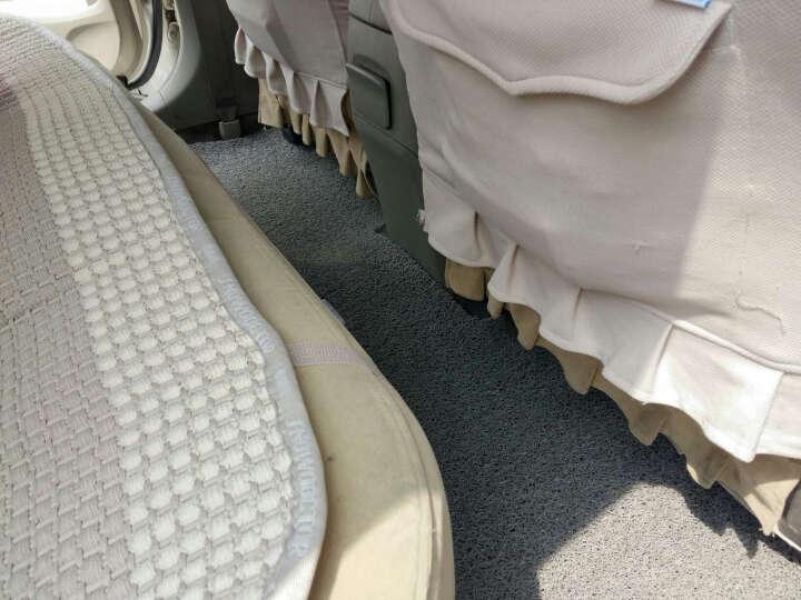 固特异(Goodyear)丝圈汽车脚垫 飞足系列 适用丰田致炫/雷凌/凯美瑞/卡罗拉/RAV4脚垫 厂家直发 灰色 晒单图