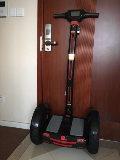 爱比力两轮智能自平衡电动车平衡车思维车火星车双轮越野体感车 黑色 晒单图