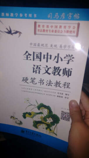 中国书法培训教程:颜真卿楷书教程(多宝塔碑)(最新修订版) 晒单图