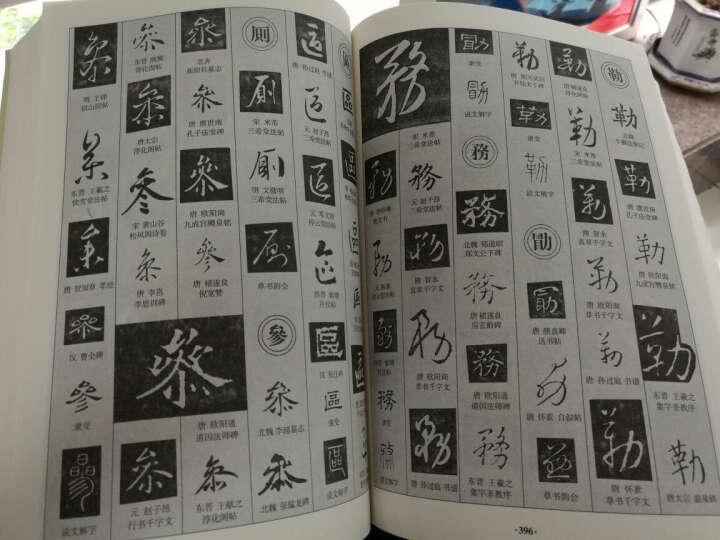 书法大字海 中国传世书法艺术字体查阅辞典 笔画拼音查字法 书法爱好者工具 新书法字典 晒单图