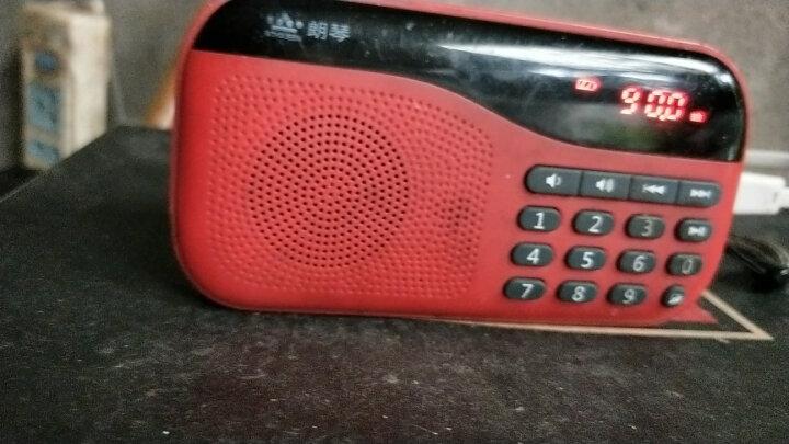 朗琴(ROYQUEEN)X5 便携式插卡收音机随身听 老年mp3音乐播放器 手机迷你音响 数字点唱机 烈焰红 晒单图
