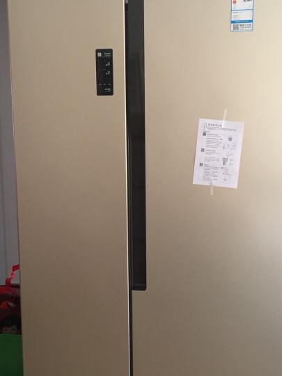 容声(Ronshen) 590升 对开门冰箱 风冷无霜 快速冷冻 电脑控温 璀璨金 BCD-590WD11HY 晒单图
