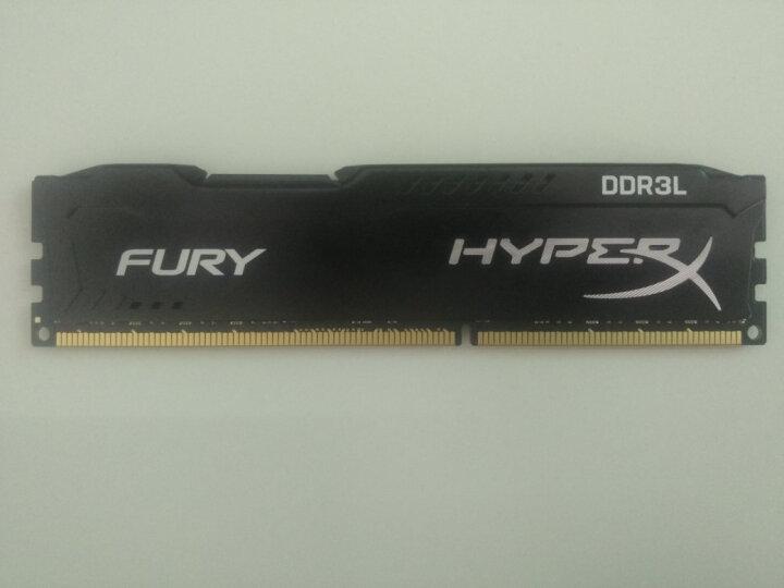 金士顿(Kingston)骇客神条 Fury系列 雷电 低电压版 DDR3 1866 8GB台式机内存 晒单图