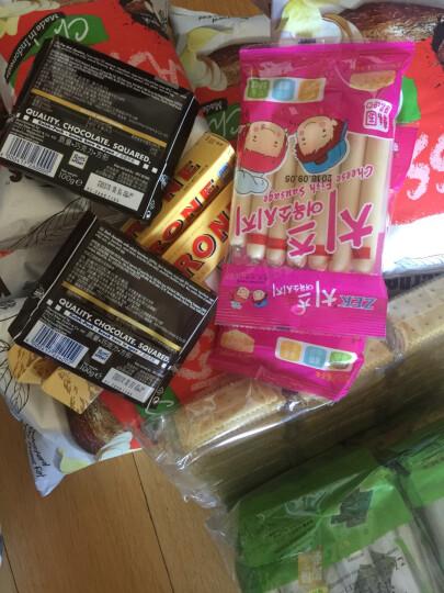 瑞士进口 Toblerone 瑞士三角牛奶巧克力含蜂蜜及巴旦木糖 糖果零食 100g 晒单图