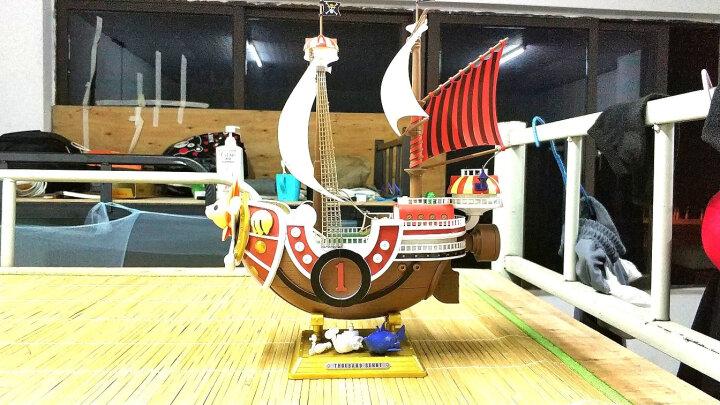 万代(BANDAI) 万代海贼王船拼装模型手办 海贼船 阳光号纪念版 219771 晒单图