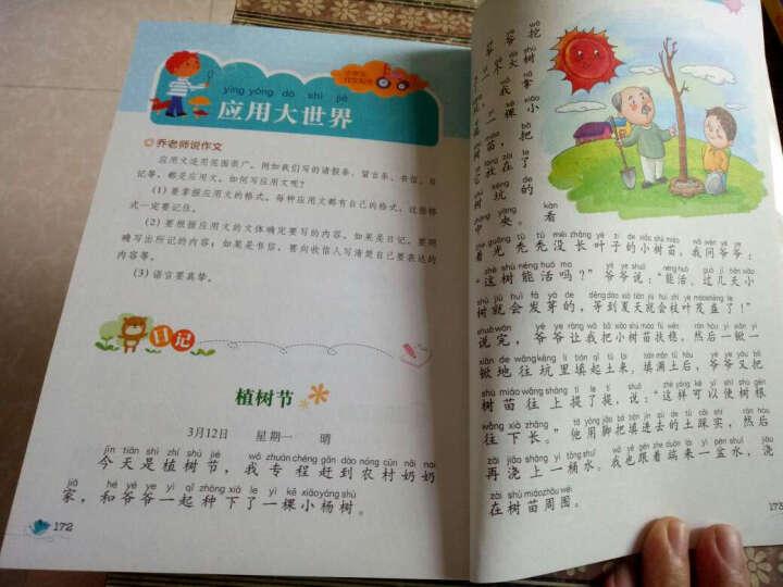 别怕作文:小学生作文起步(一至三年级)(彩图珍藏版) 晒单图