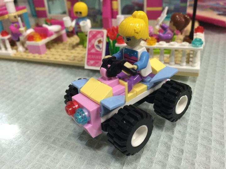 积高(COGO)梦幻女孩沙滩餐厅系列积木 塑料立体拼装拼插模型 女孩益智玩具500片 14509 晒单图