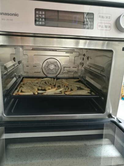 松下(Panasonic)NU-JA100W 家用蒸烤箱15L 多用途 空气炸烘焙发酵餐具消毒电烤箱 晒单图