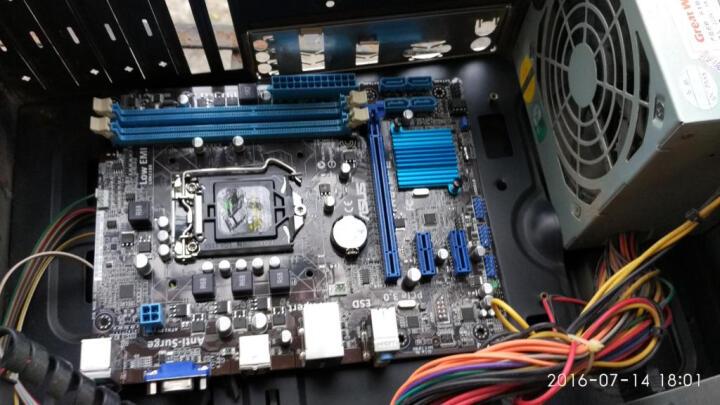 华硕(ASUS) H61M-E H61 全固态主板 LGA1155电脑主板 晒单图