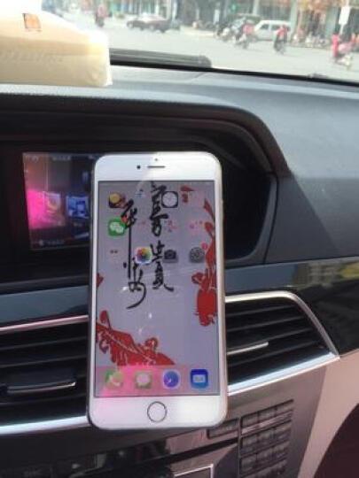 洛玛 多功能车载手机支架汽车用导航仪吸盘式出风口车内车上仪表台通用 黑色  出风口手机支架 晒单图