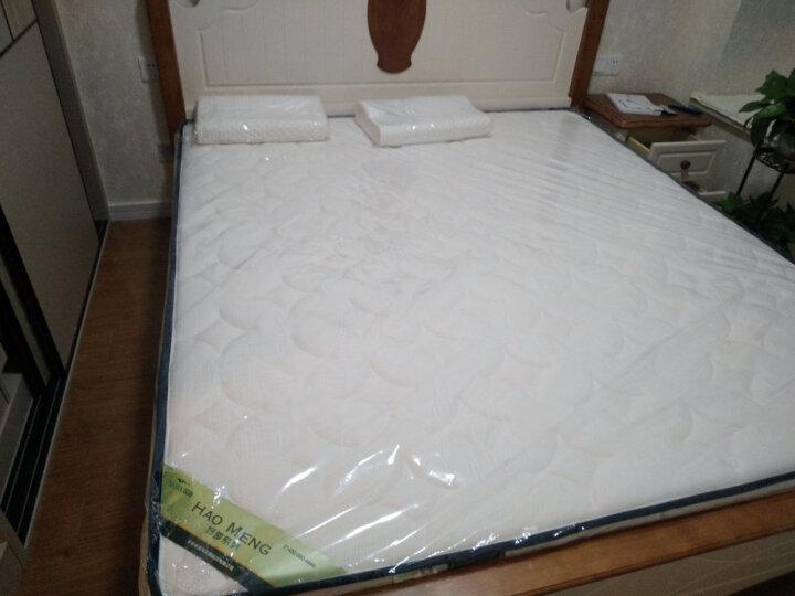 瑶海 软硬两用天然乳胶席梦思床垫双人1.8米1.5m环保椰棕独立袋装弹簧床垫双面床垫1.8x2.0 独立袋装弹簧+天然乳胶+3E椰梦维+针织面料 1800*2000 晒单图