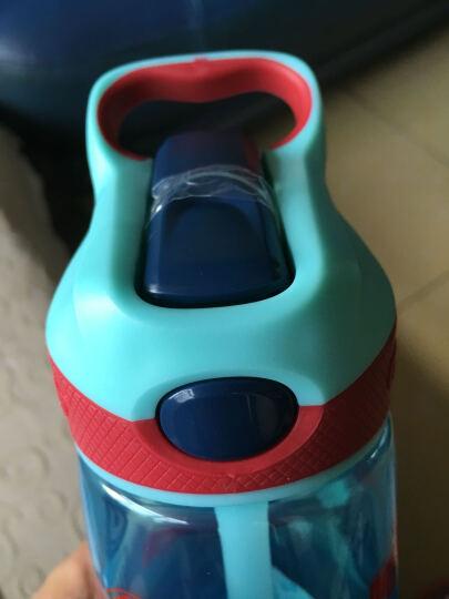 contigo 儿童吸管水杯夏季便携防漏户外运动创意塑料吸管杯子450ml 汽车总动员 晒单图