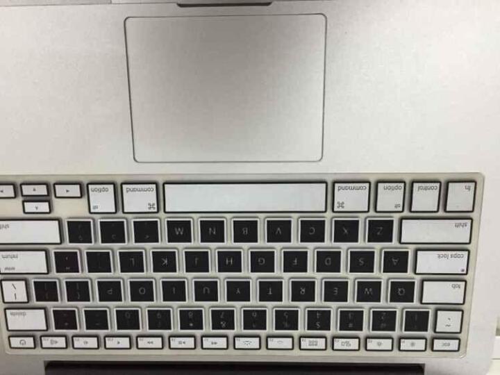 倍晶 mac苹果macbook笔记本air电脑pro13.3键盘保护13贴12彩色15膜新Pro16 普通印字版神秘黑 老款Air13/老款Pro13/15 晒单图