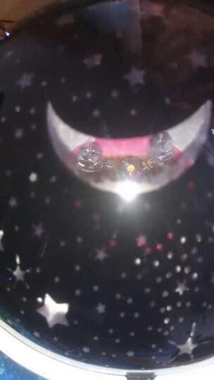 绿盒子 旋转星空灯 led星空投影灯 梦幻星星灯 创意新奇特小夜灯 送小孩子男生女生圣诞礼物 月亮星星 晒单图