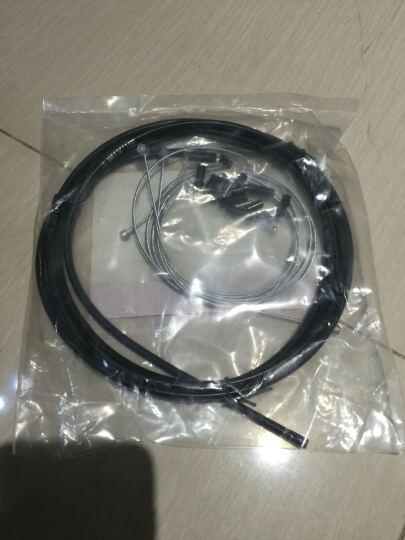 靡西摩(mi.xim) 彩色套装自行山地车刹车线管/变速线管/送线管帽 黑色线管一包 晒单图