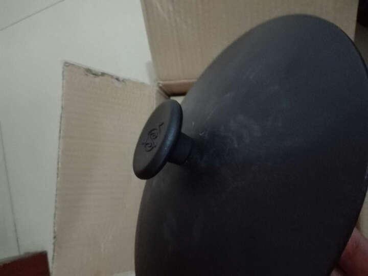 铸味汤锅 铸铁锅煲汤锅电磁炉明火通用(不含蒸笼) 德国锅26cm配铁盖 容量约4.6L 晒单图