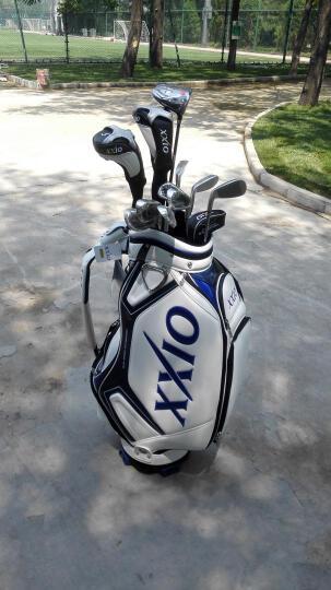 XXIO MP1000 高尔夫球杆 XX10  X 男士高尔夫套杆 碳素SR硬度配白色球包 晒单图