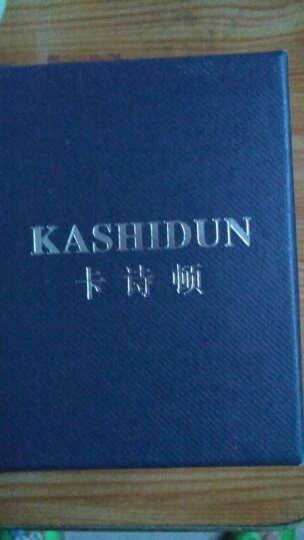 卡诗顿(KASHIDUN)水晶钻时尚潮流水钻时装表女表精钢夜光防水女士 YJ-003 晒单图