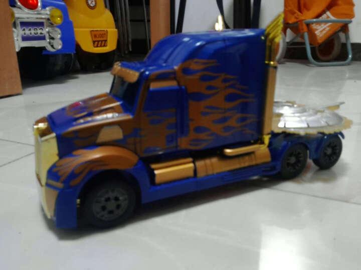 孩之宝 变形金刚玩具5 机器人男孩玩具拼装模型汽车 加强级大黄蜂C1320 晒单图