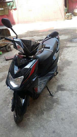 鹰仕莱 尚领V6发动机踏板电喷摩托车 可改装上牌 燃油助力车踏板车 白色 电喷摩托车 晒单图