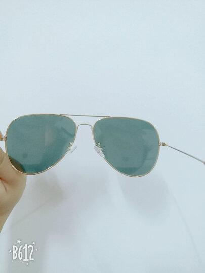 音米(INMIX)情侣款偏光太阳镜 时尚飞行员蛤蟆镜潮人复古墨镜驾驶镜 炫彩眼镜 1201 金框红片 晒单图