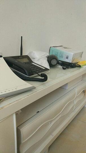 摩托罗拉(Motorola)FW250R无线插卡录音电话机移动固话办公家用座机无绳支持移动联通手机卡SIM卡(黑色) 晒单图