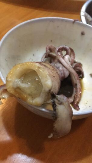 沈船长 东山岛野生海鲜毛管小管鱿鱼 5-6个/斤 2斤 晒单图