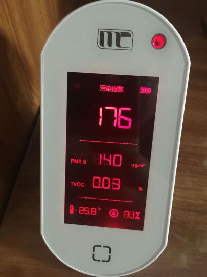 MC妙创测甲醛新房家用除甲醛检测仪pm2.5空气质量检测器TVOC霾表监测 亮金色(补货中) 晒单图