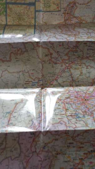 中短途自驾出行专用地图系列:陕西、宁夏、四川、重庆、贵州、云南交通地图(2016年新版) 晒单图