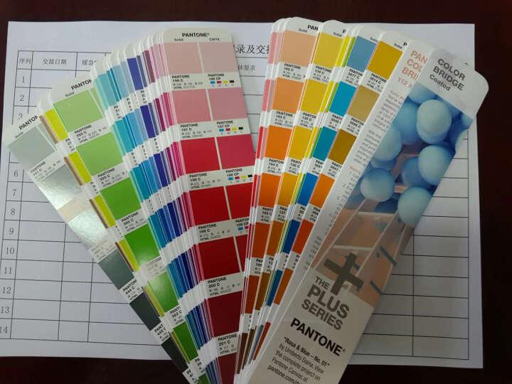 彩通PANTONE音潘通色卡国际通用标准 色彩桥梁RGB/CMYK色卡 GG6103N 晒单图
