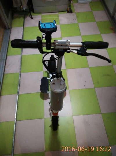 Airwheel 爱尔威电动滑板车  锂电池折叠迷你电动车 城市便携电瓶车 碳纤维-L 晒单图
